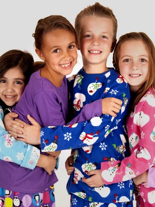 Основные виды детской пижамы
